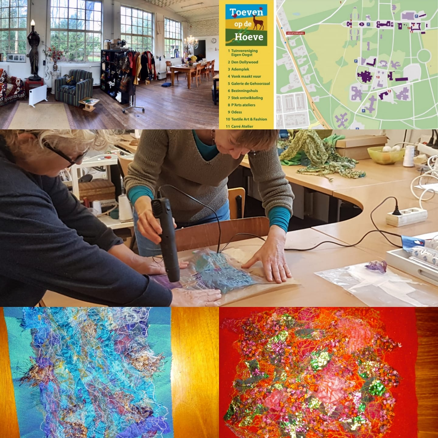 WORKSHOP TEXTILE ART - Trudie van Haaster
